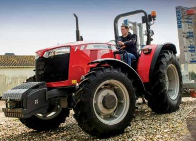 MF traktoreiden teknisiä tietoja